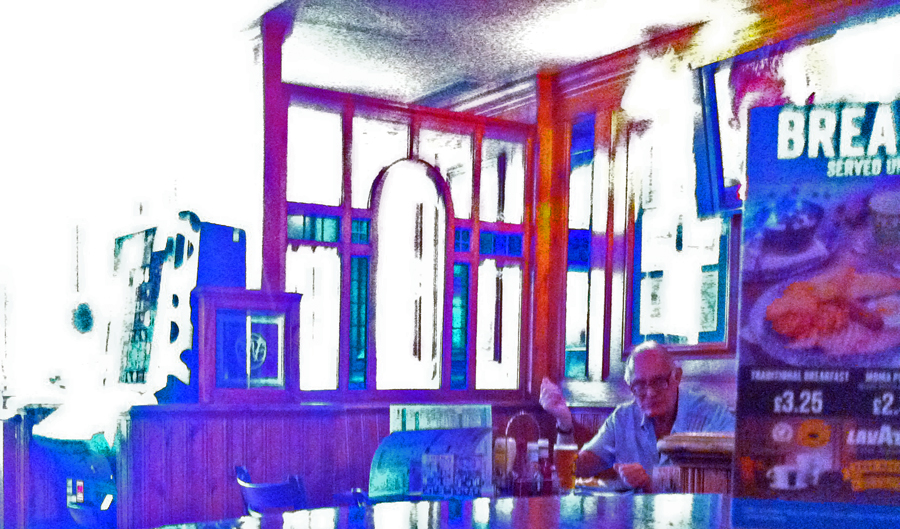 Village Inn Rayners Lane bar 1